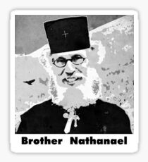 Brother Nathanael with Title Sticker