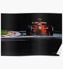 Michael Schumacher, Ferrari F300 Poster