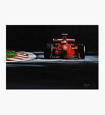 Michael Schumacher, Ferrari F300 Photographic Print
