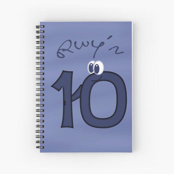 Rwy'n 10 Spiral Notebook