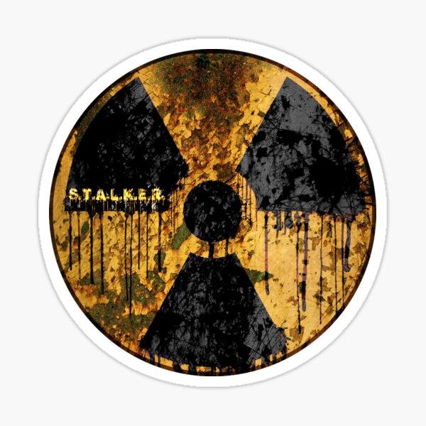 Stalker Radiation Symbol Sticker
