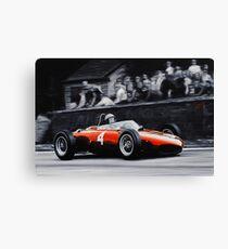 Phil Hill, Ferrari 156 'Shark Nose' Canvas Print