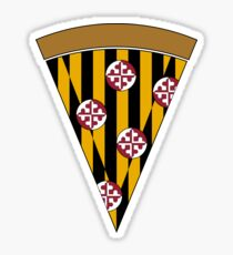Maryland Pizza Jumbo Slice Sticker
