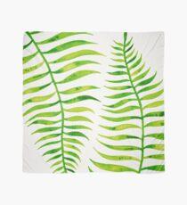 Lime Palm Leaf Scarf