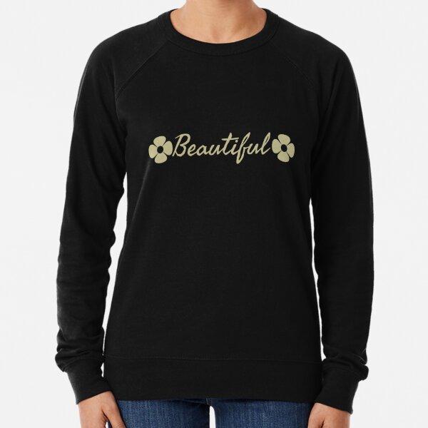 Beautiful  Lightweight Sweatshirt