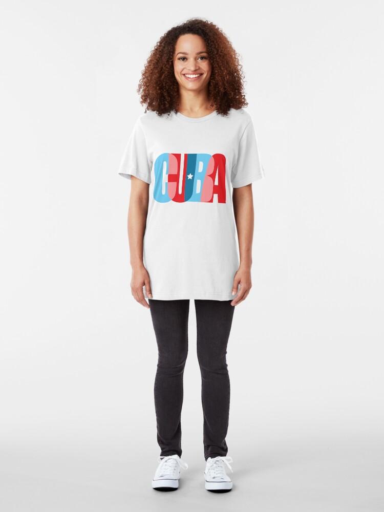 Alternate view of CUBA  Slim Fit T-Shirt