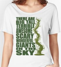 There Are Giants in the Sky! Women's Relaxed Fit T-Shirt