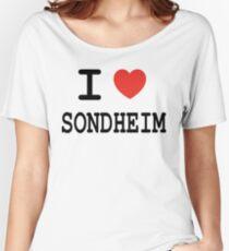 I <3 Sondheim Women's Relaxed Fit T-Shirt