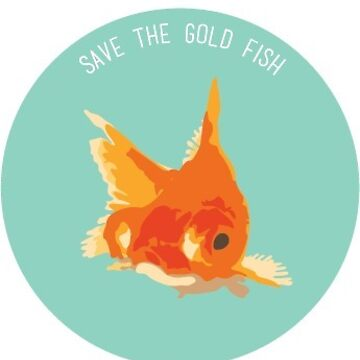 Save The Gold Fish by anasaziproducts