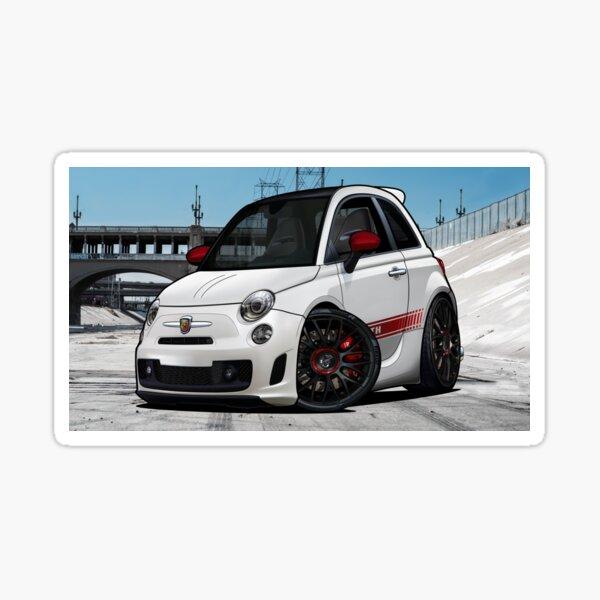 Fiat 500 Abarth 2009 Sticker