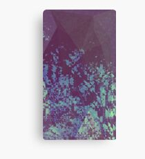 Blue Pixel Canvas Print