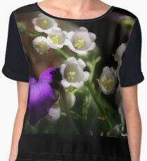 White Bells Women's Chiffon Top