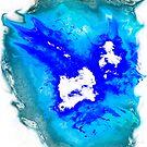 blue and white Phoenix by Followthedon