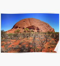 The other side - Uluru Poster