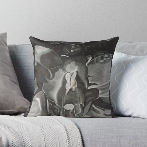 Nature and Abstraction Throw Pillow