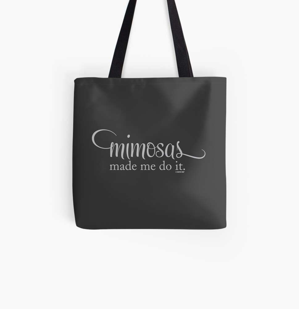 The Mimosa Collection by Graphic Snob® All Over Print Tote Bag