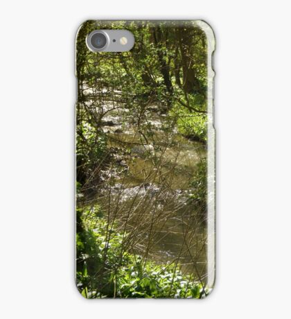 Woodland stream iPhone Case/Skin