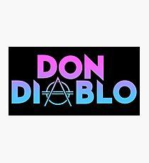 Don Diablo Photographic Print
