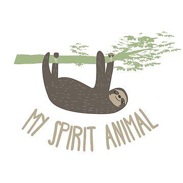 Sloth Spirit Animal by SpartanArt