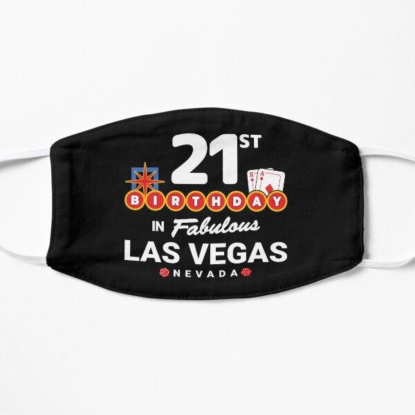 Las Vegas Birthday Party - 21st Birthday - Vegas Birthday Flat Mask