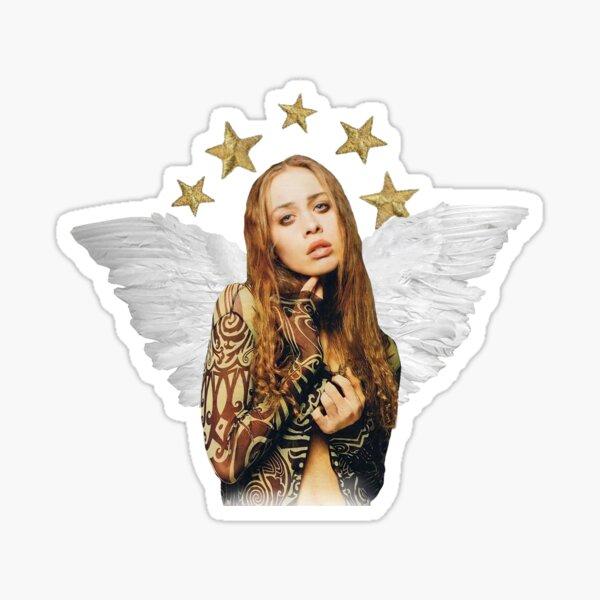 Fiona Apple Angel Rookie Yearbook Style Sticker