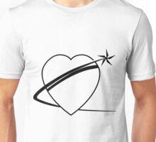 Black Heart Of Gold Logo Unisex T-Shirt