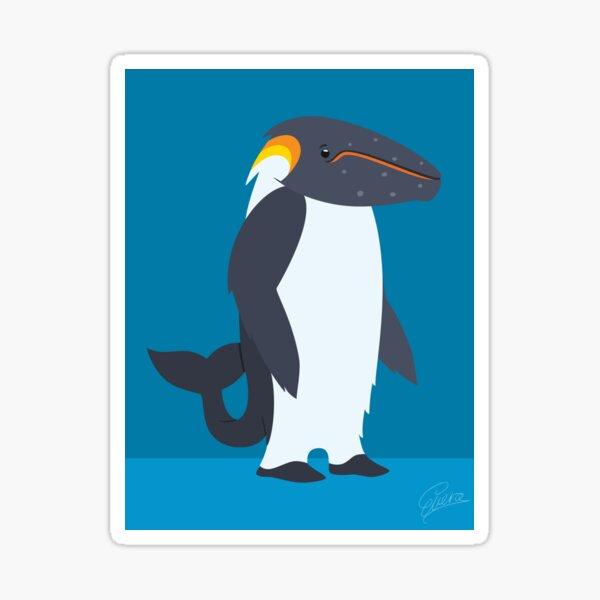 Humpback Whale - Emperor Penguin Sticker
