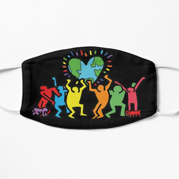 keith haring rap shirt outfit, best gift idea, Diversity Flat Mask