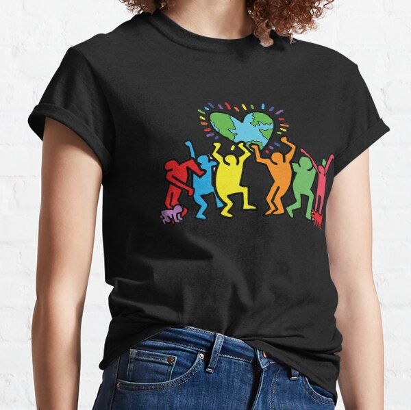 keith haring rap shirt outfit, best gift idea, Diversity Classic T-Shirt