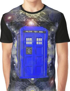 TARDIS CLASSIC LONDON POLICE BOX 1 Graphic T-Shirt