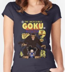 Incredible Goku Women's Fitted Scoop T-Shirt