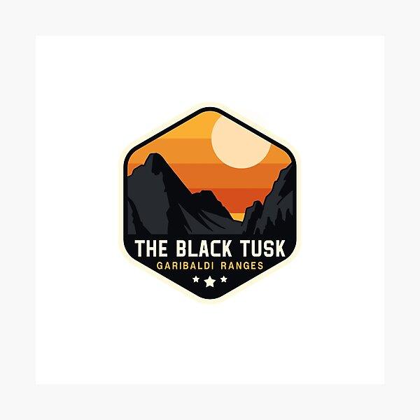 The Black Tusk Photographic Print