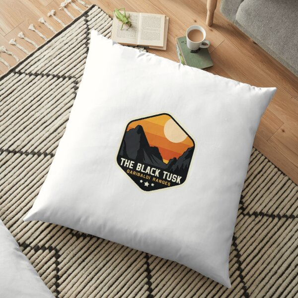 The Black Tusk Floor Pillow