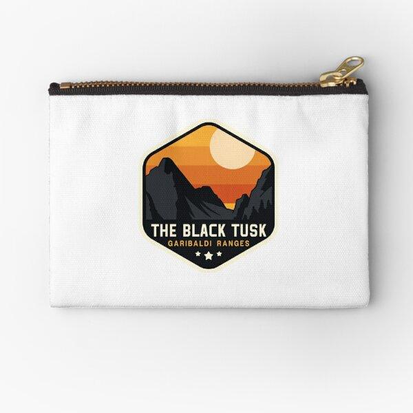 The Black Tusk Zipper Pouch