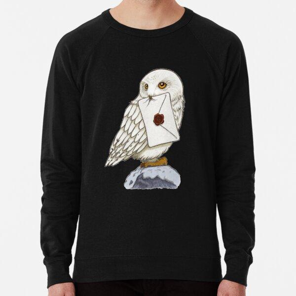 Chouette blanche Sweatshirt léger