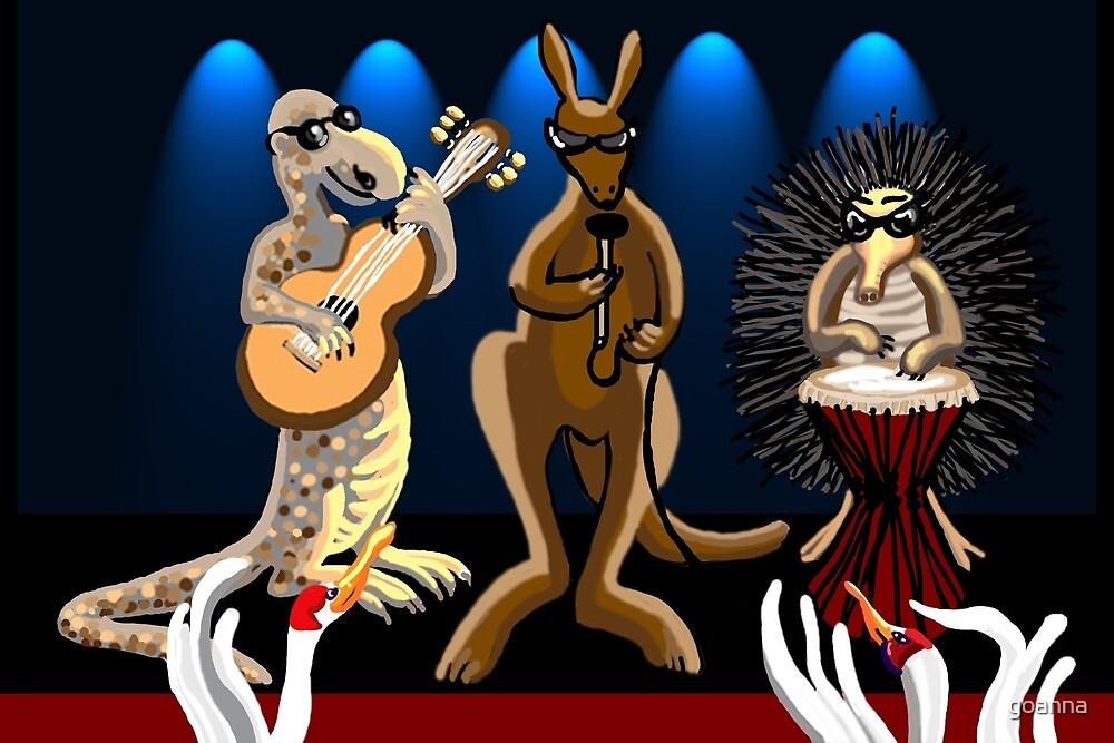 Aussie Rockers by goanna