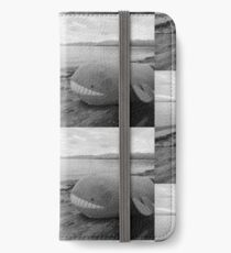 wailords day at the beach iPhone Wallet/Case/Skin