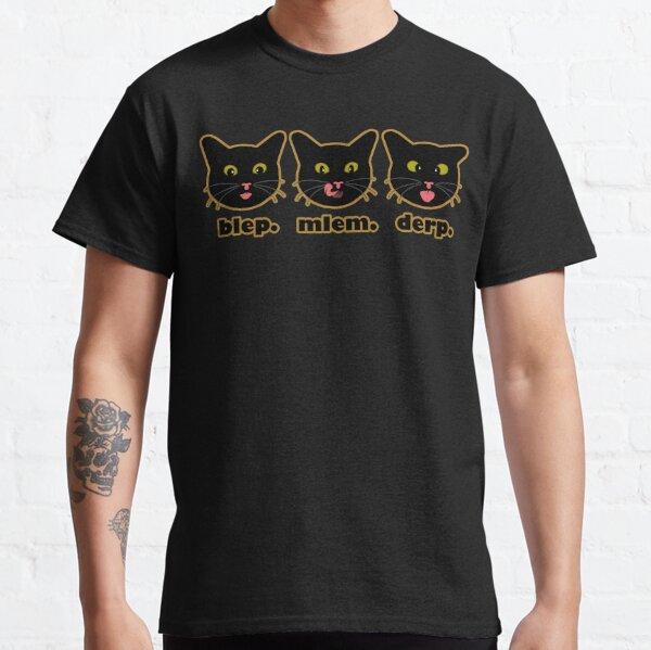 blep. mlem. derp. Classic T-Shirt
