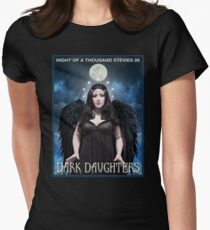 Night of 1000 Stevies 26: Dark Daughters T Shirts Benefit Animals Women's Fitted T-Shirt