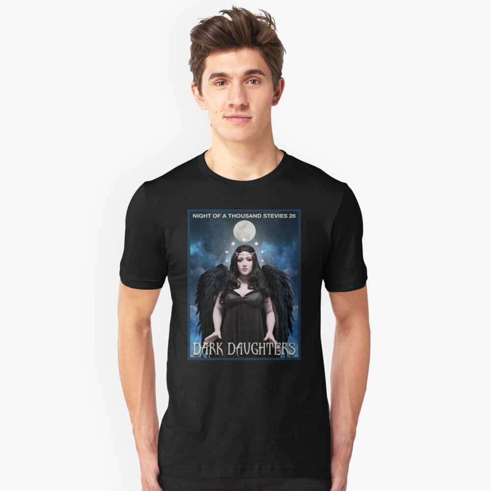 Night of 1000 Stevies 26: Dark Daughters T Shirts Benefit Animals Unisex T-Shirt Front