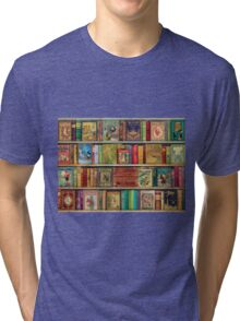 A Daydreamer's Book Shelf Tri-blend T-Shirt
