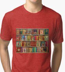 A Daydreamer's Book Shelf Tri-blend T-Shirt