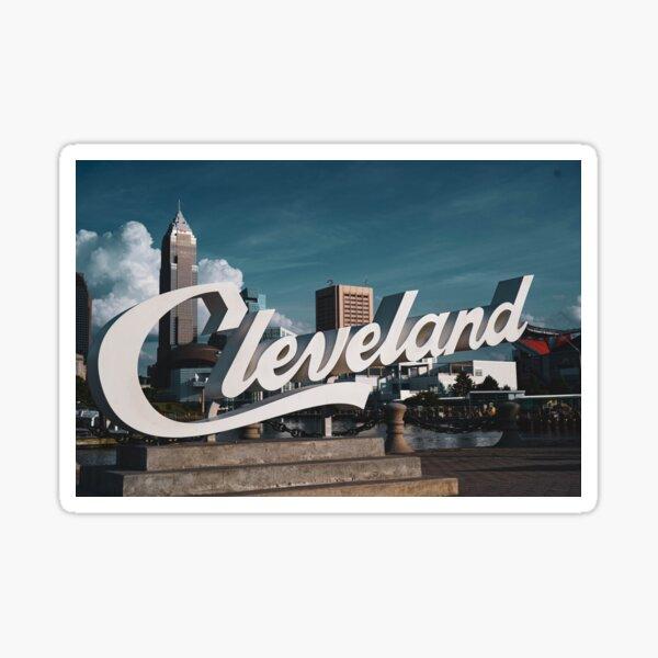 Cleveland Sign  Sticker