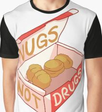 """Nugs Not Drugs"" Graphic T-Shirt"