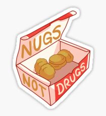 """Nugs Not Drugs"" Sticker"