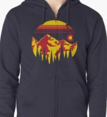 Colorado Skies Zipped Hoodie