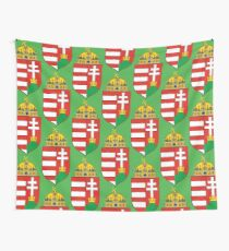 Coat of Arms of the Kingdom of Hungary Wall Tapestry