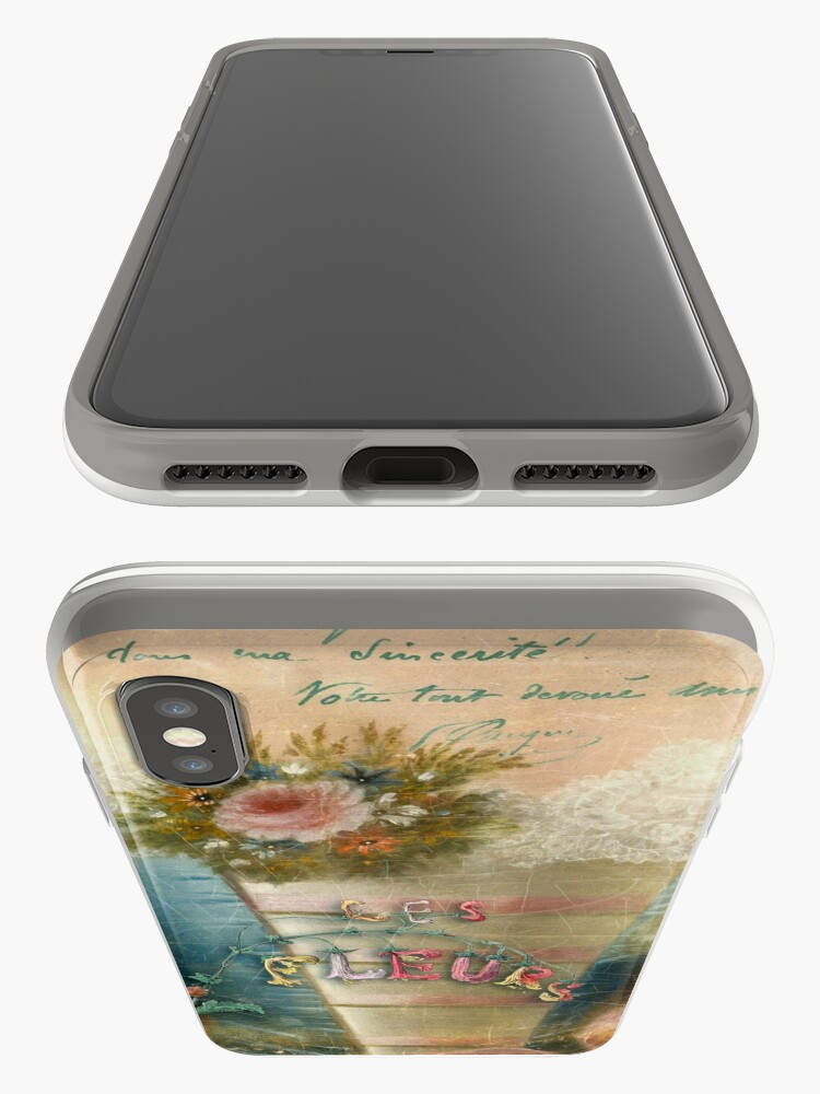Alternate view of Les Fleurs iPhone Cases & Covers