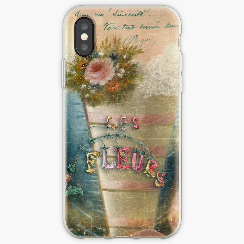 Les Fleurs iPhone Cases & Covers