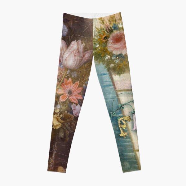 Les Fleurs Leggings